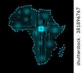 abstract africa   Shutterstock . vector #381896767