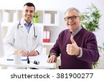 Satisfied Old Patient With...