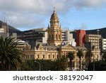 cape town city hall | Shutterstock . vector #38192047
