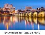harrisburg  pennsylvania... | Shutterstock . vector #381957547