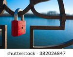 Lock Lock Iron Locked River...