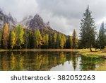 Lago Antorno With Mauntain...