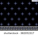 ethnic embroidery graphic... | Shutterstock .eps vector #382052317