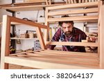 owner of an independent... | Shutterstock . vector #382064137