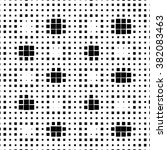 abstract dotted vector... | Shutterstock .eps vector #382083463
