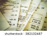 closeup of high bills fan... | Shutterstock . vector #382132687