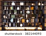 decoration and furniture in... | Shutterstock . vector #382144093