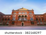 victoria and albert museum... | Shutterstock . vector #382168297