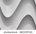 optical art background wave...   Shutterstock .eps vector #382239763