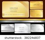 creative leaf business card... | Shutterstock .eps vector #382246837