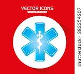 medical icon  design  | Shutterstock .eps vector #382254307
