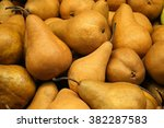 Stack Of Bosc Pears