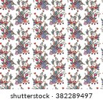 vintage seamless pattern with... | Shutterstock .eps vector #382289497