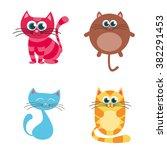 cat.vector illustration | Shutterstock .eps vector #382291453