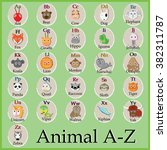 Cute Animal Alphabet. Funny...