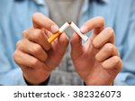 stop smoking | Shutterstock . vector #382326073