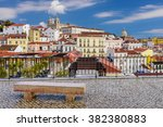 Lisbon Cityscape   Traditional...