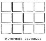 rectangular vector frame.... | Shutterstock .eps vector #382408273