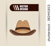 wild west design  | Shutterstock .eps vector #382441813