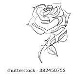 drawing vector graphics with... | Shutterstock .eps vector #382450753