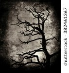 beautiful vintage grunge scary... | Shutterstock . vector #382461367