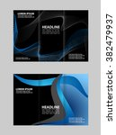 vector modern tri fold brochure ... | Shutterstock .eps vector #382479937