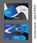 brochure design template vector ... | Shutterstock .eps vector #382479967