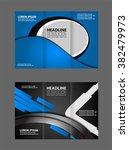 brochure design template vector ... | Shutterstock .eps vector #382479973