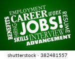jobs career interview hiring... | Shutterstock . vector #382481557