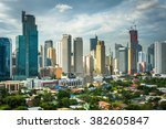 View Of The Skyline Of Makati...