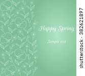 Spring Card. Happy Spring....