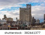 view of brooklyn new york | Shutterstock . vector #382661377