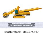 Bucket Wheel Excavator. Heavy...