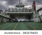 norway   bergen . ferry across... | Shutterstock . vector #382678603