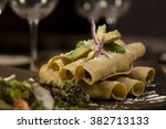 crispy tacos | Shutterstock . vector #382713133