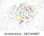 abstract color splash... | Shutterstock .eps vector #382760887