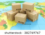 global logistics  shipping and... | Shutterstock . vector #382769767