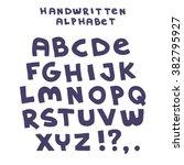 hand drawn vector sketch... | Shutterstock .eps vector #382795927