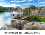 Beautiful Sylvan Lake Custer State - Fine Art prints