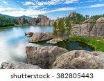 Beautiful Sylvan Lake In Custe...