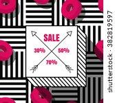 vector sale banner  label...   Shutterstock .eps vector #382819597