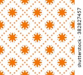 vector seamless pattern.... | Shutterstock .eps vector #382827457