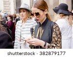 milan  italy   february 25 ...   Shutterstock . vector #382879177