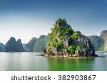 scenic view of the halong bay ... | Shutterstock . vector #382903867