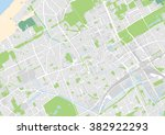 vector city map of the hague ... | Shutterstock .eps vector #382922293