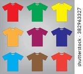 t shirts | Shutterstock .eps vector #382963327