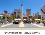 san francisco  ca   july 4 ... | Shutterstock . vector #382968943