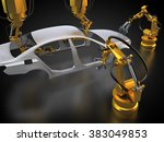 3d rendering  vehicle... | Shutterstock . vector #383049853