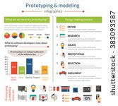 prototyping and modeling... | Shutterstock . vector #383093587