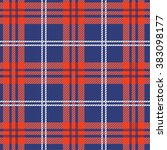 tartan  plaid seamless pattern. | Shutterstock . vector #383098177